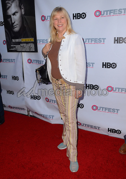 "11 July 2015 - West Hollywood, California - Candy Clark. Arrivals for the 2015 Outfest Los Angeles LGBT Film Festival screening of ""Tab Hunter Confidential"" held at The DGA Theater. Photo Credit: Birdie Thompson/AdMedia"