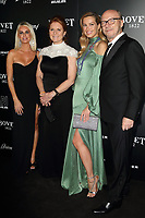 Caroline Stanbury, Sarah Ferguson, Petra Nemcova and Paul Haggis at the BOVET 1822 Brilliant is Beautiful Gala benefitting Artists for Peace and Justice's Global Education Fund for Woman and Girls at Claridge's Hotel on December 1, 2017<br /> CAP/ROS<br /> &copy;Steve Ross/Capital Pictures /MediaPunch ***NORTH AND SOUTH AMERICAS ONLY***