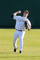 Stephen Talbott #36 of the Purdue Boilermakers during the Big East-Big Ten Challenge vs. the Notre Dame Fighting Irish at Al Lang Field in St. Petersburg, Florida;  February 19, 2011.  Photo By Mike Janes/Four Seam Images