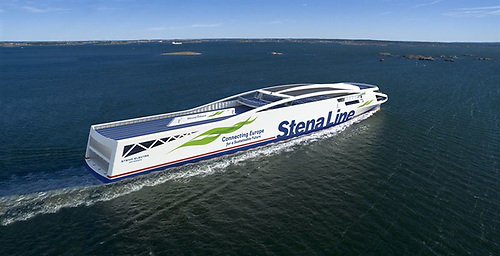 Stena Line's first electric Ferry, Eletkra, is planned for 2030
