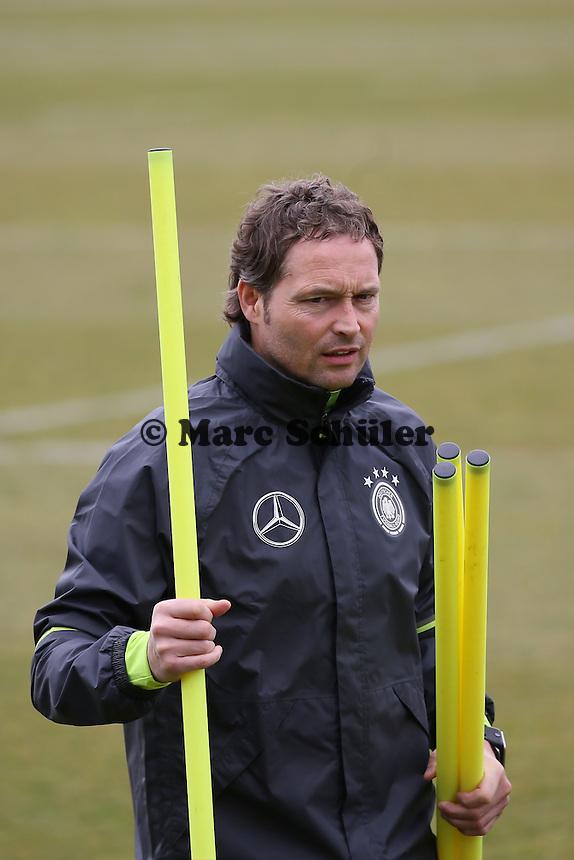 Co-Trainer Marcus Sorg - Training der Deutschen Nationalmannschaft, Wurfplatz Berlin