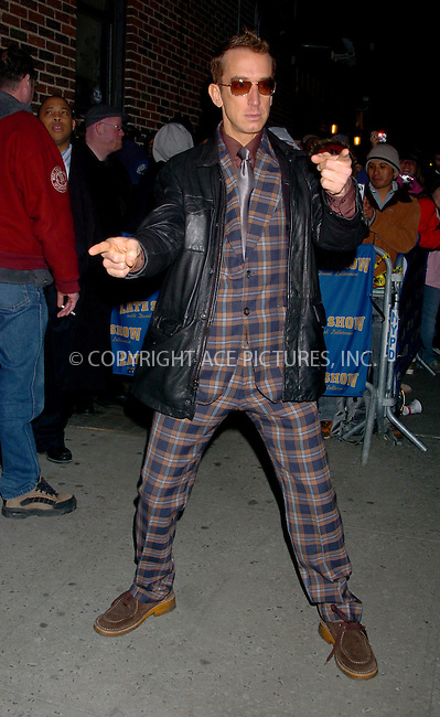 WWW.ACEPIXS.COM . . . . .  ....NEW YORK, FEBRUARY 20, 2006....Andy Dick arriving at the Ed Sullivan Theatre for the David Letterman Show.....Please byline: AJ Sokalner - ACEPIXS.COM.... *** ***..Ace Pictures, Inc:  ..Philip Vaughan (212) 243-8787 or (646) 769 0430..e-mail: info@acepixs.com..web: http://www.acepixs.com