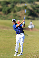 Pablo Larrazabal (ESP) on the 7th fairway at Kingsbarns during Round 1 of the 2015 Alfred Dunhill Links Championship at the Old Course St. Andrews in Scotland on 1/10/15.<br /> Picture: Thos Caffrey | Golffile