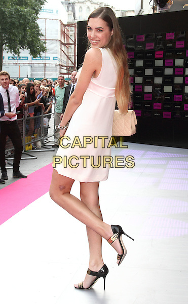 LONDON, ENGLAND - JULY 16: Amber Le Bon attends the VIP screening of 'Kasabian' at Vue Leicester Square on July 16, 2014 in London, England.<br /> CAP/ROS<br /> &copy;Steve Ross/Capital Pictures