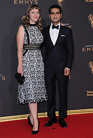 10 September  2017 - Los Angeles, California - Kumail Nanjiani. 2017 Creative Arts Emmys - Arrivals held at Microsoft Theatre L.A. Live in Los Angeles. <br /> CAP/ADM/BT<br /> &copy;BT/ADM/Capital Pictures