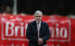 Mark Hughes manager of Stoke City - Barclays Premier League - Stoke City vs Manchester City - Britannia Stadium - Stoke on Trent - England - 11th February 2015 - Picture Simon Bellis/Sportimage