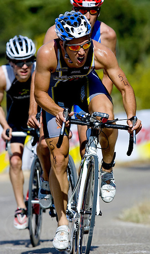 30 MAY 2009 - MADRID,ESP - Francisco Fernandez Cortes Alvarez - Spanish Triathlon Championships (PHOTO (C) NIGEL FARROW)