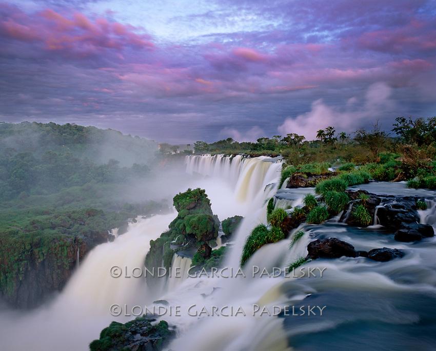 Iguazu National Park, a UNESCO World Heritage Site, in Argentina, South America