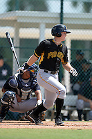 Pittsburgh Pirates outfielder Austin Meadows (36) during an Instructional League game against the New York Yankees on September 18, 2014 at the Pirate City in Bradenton, Florida.  (Mike Janes/Four Seam Images)