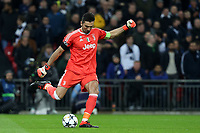 Gianluigi Buffon of Juventus during Tottenham Hotspur vs Juventus, UEFA Champions League Football at Wembley Stadium on 7th March 2018
