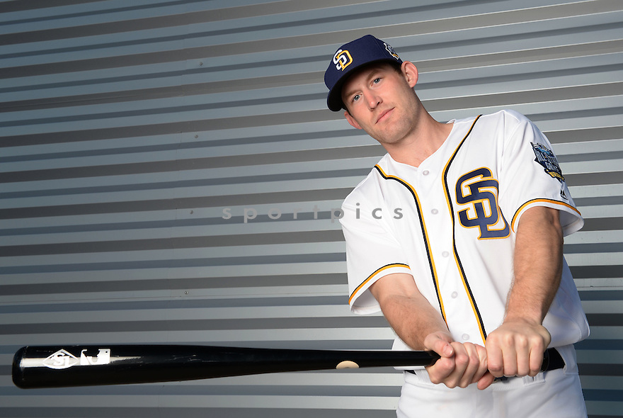 San Diego Padres Rocky Gale (58) during photo day on February 26, 2016 in Peoria, AZ.