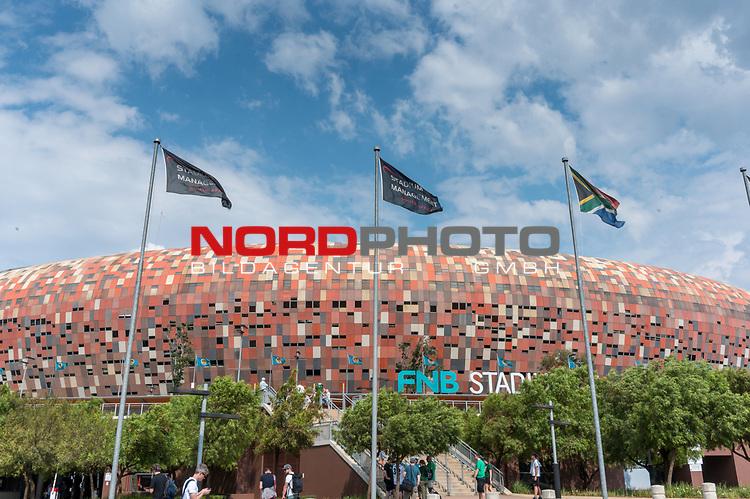 06.01.2019, FNB Stadion/Soccer City, Nasrec, Johannesburg, RSA, FSP , SV Werder Bremen (GER) vs Kaizer Chiefs (ZA)<br /> <br /> im Bild / picture shows <br /> <br /> Feature Blick auf das WM Stadion von 2010 FNB Coccer City<br /> <br /> Foto © nordphoto / Kokenge