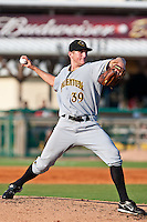 Aaron Pribanic of the Bradenton Marauders during the game at Jackie Robinson Ballpark in Daytona Beach, Florida on August 2, 2010. Photo By Scott Jontes/Four Seam Images