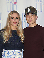 """LOS ANGELES, CA - JUNE 21: Hayden Szeto, Guest, at 2019 Rom Com Fest Los Angeles - """"Summer Night"""" at Downtown Independent in Los Angeles, California on June 21, 2019. Credit: Faye Sadou/MediaPunch"""