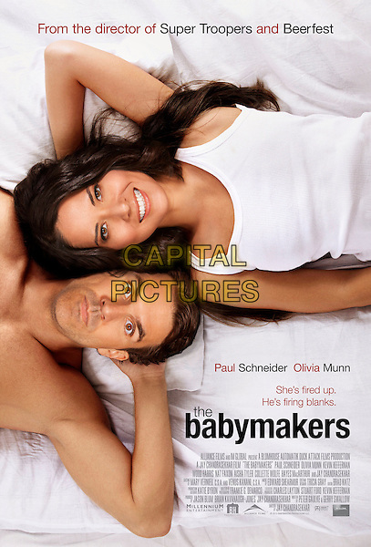 ONE SHEET POSTER ART.in The Babymakers (2012).*Filmstill - Editorial Use Only*.CAP/FB.Supplied by Capital Pictures.