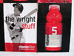 David Wright Promotional Billboard Ad Campaign for <br />Vitamin Water 5 in New York City.<br />October 16, 2006