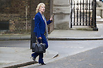 © Joel Goodman - 07973 332324 . 11/05/2015 . London , UK . ANNA SOUBRY leaves 10 Downing Street this afternoon (11th May 2015) . Photo credit : Joel Goodman