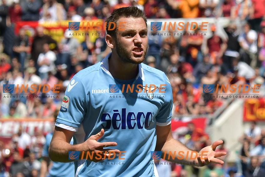 Stefan De Vrij Lazio <br /> Roma 30-04-2017 Stadio Olimpico Football Calcio Serie A 2016/2017 AS Roma - Lazio Foto Andrea Staccioli / Insidefoto