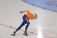 SCHAATSEN: SALT LAKE CITY: Utah Olympic Oval, 16-11-2013, Essent ISU World Cup, 1500m, Jorien Voorhuis (NED), ©foto Martin de Jong