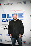 """New York Giants David Baas Attends NEW YORK Rangers ROLL OUT THE<br /> """"BLUE CARPET PRESENTED by Chase"""" <br /> FOR GAME THREE AGAINST WASHINGTON at Madison Square Garden, NY"""
