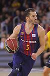 League ACB-ENDESA 2017/2018 - Game: 11.<br /> FC Barcelona Lassa vs Iberostar Tenerife: 91-93.<br /> Pau Ribas