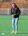 TILBURG  - hockey-  assistent-coach Maartje Paumen (MOP)   voor de wedstrijd Were Di-MOP (1-1) in de promotieklasse hockey dames. COPYRIGHT KOEN SUYK