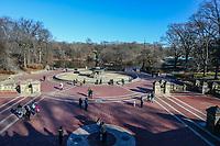 NOVA YORK, EUA, 19.12.2018 - TURISMO-EUA - Vista do Central Park em Nova York nos Estados Unidos nesta quarta-feira, 19. No local morou o musico John Lennon. (Foto: William Volcov/Brazil Photo Press)