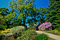 Annapolis Royal historic gardens, Annapolis Royal, Annapolis Valley, Nova Scotia, Canada