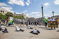 """O Silencio Alimenta A Corrupcao. Populacao Passiva = Corrupcao Ativa. Brazil I Do Care"".<br />