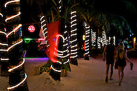Boracay Island at night Philippines