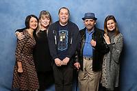 Sylvester McCoy, Sophie Aldred, Dee Sadler and Jessica Martin