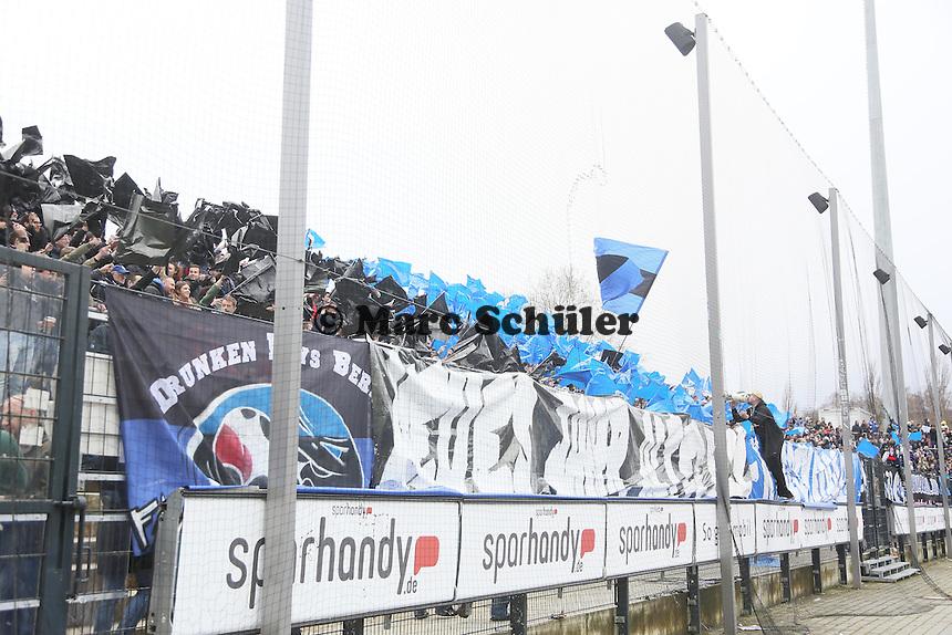 Frankfurter Fans - FSV Frankfurt vs.Dynamo Dresden, Frankfurter Volksbank Stadion