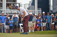 Lanto Griffin (USA) watches his putt on 18 during round 4 of the 2019 Houston Open, Golf Club of Houston, Houston, Texas, USA. 10/13/2019.<br /> Picture Ken Murray / Golffile.ie<br /> <br /> All photo usage must carry mandatory copyright credit (© Golffile | Ken Murray)