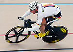 June 23, 2012: Germany's, Stefan Nimke, in action during the Men's 200 meter Time Trial competition at the U.S. Grand Prix of Sprinting, Seven Eleven Velodrome, Colorado Springs, CO.