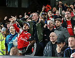 Arsenal's fans turn on their side during the Premier League match at Selhurst Park Stadium, London. Picture date: April 10th, 2017. Pic credit should read: David Klein/Sportimage