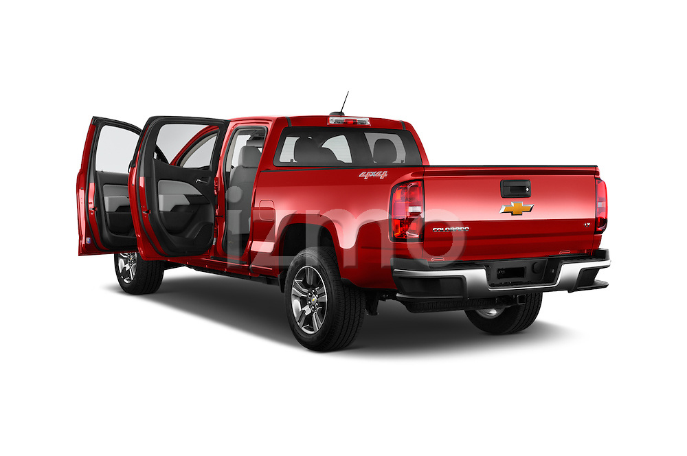 Car images of a 2015 Chevrolet Colorado LT Crew Cab Long Box 4 Door Truck Doors