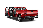 Car images of a 2017 Chevrolet Colorado LT Crew Cab Long Box 4 Door Truck Doors