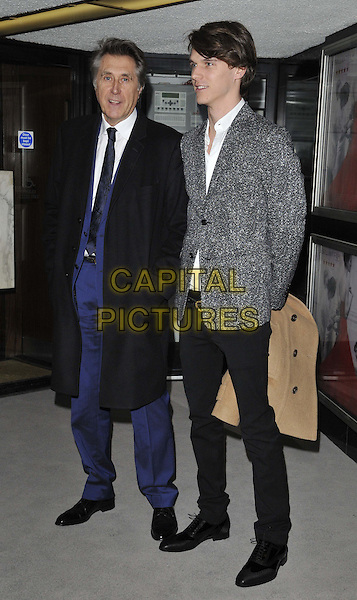LONDON, ENGLAND - MARCH 16: Bryan Ferry &amp; Tara Ferry attend the &quot;Dior and I&quot; UK film premiere, Curzon Mayfair cinema, Curzon St., on Monday March 16, 2015 in London, England, UK. <br /> CAP/CAN<br /> &copy;CAN/Capital Pictures