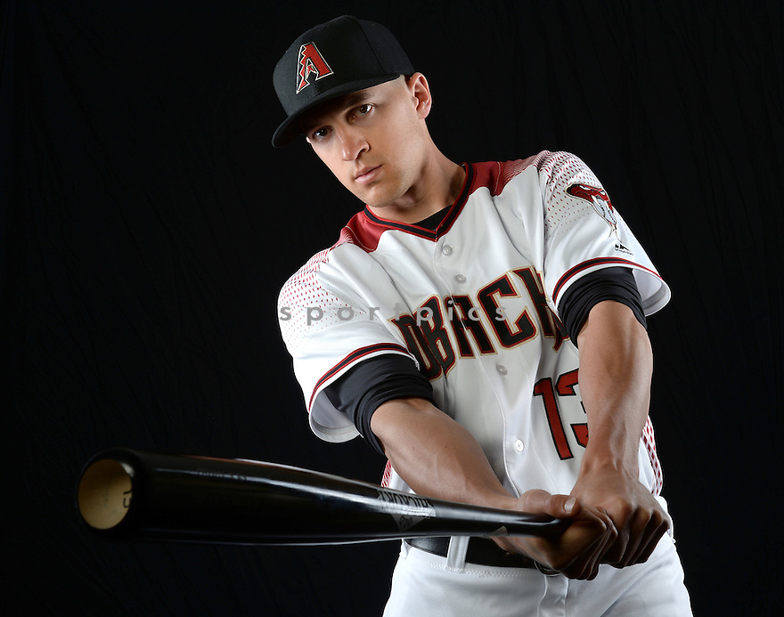 Arizona Diamondbacks Nick Ahmed (13) during photo day on February 28, 2016 in Scottsdale, AZ.