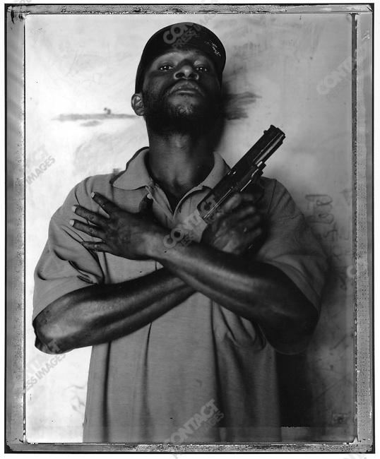 """Elois,"" Raskols, gangs of Port Moresby, Papua New Guinea, January 2004"