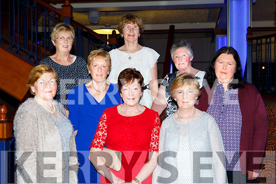 Kilcummin Community Care ladies  at the Ring of Kerry cycle cheque presentation in the INEC on Friday front row l-r: Ann McSweeney, Teresa O'Leary, Maureen Purser. Back row: Eileen Greaney, Kate Fleming, Kathleen O'sullivan, Noreen Fleming, and Mary Ryan