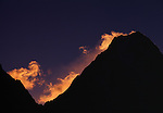 Sunrise over Gasherbrum I, Karakoram Range, Pakistan