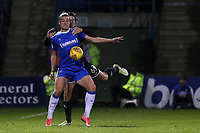 Tom Eaves of Gillingham shields the ball from Bury's Eoghan O'Connell during Gillingham vs Bury, Sky Bet EFL League 1 Football at the MEMS Priestfield Stadium on 11th November 2017