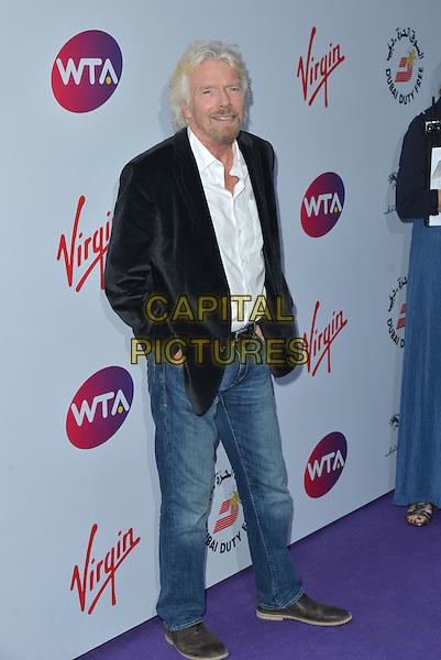 Sir Richard Branson<br /> attending the WTA Pre-Wimbledon Party at  The Roof Gardens, Kensington, London England 25th June 2015.<br /> CAP/PL<br /> &copy;Phil Loftus/Capital Pictures