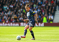 Leeds United's Kalvin Phillips in action<br /> <br /> Photographer Alex Dodd/CameraSport<br /> <br /> The EFL Sky Bet Championship Play-off  First Leg - Derby County v Leeds United - Thursday 9th May 2019 - Pride Park - Derby<br /> <br /> World Copyright © 2019 CameraSport. All rights reserved. 43 Linden Ave. Countesthorpe. Leicester. England. LE8 5PG - Tel: +44 (0) 116 277 4147 - admin@camerasport.com - www.camerasport.com