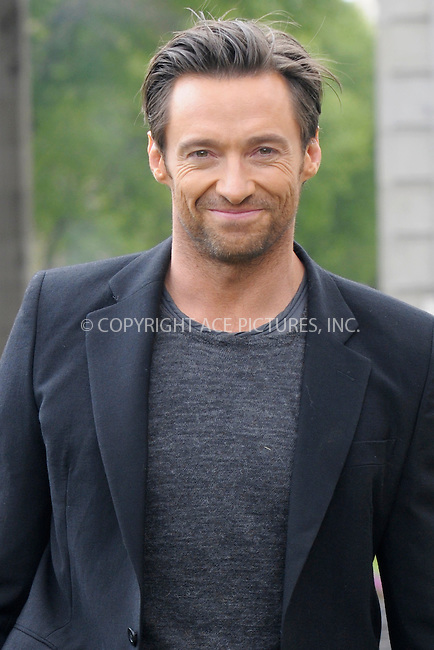 WWW.ACEPIXS.COM . . . . .  ..... . . . . US SALES ONLY . . . . .....April 15 2009, Madrid....Australian actor Hugh Jackman at a presentantion of his latest film 'X-Man Origins: Wolverine' at Alcala Gate on April 15 2009  in Madrid, central Spain.....Please byline: DR-ACE PICTURES... . . . .  ....Ace Pictures, Inc:  ..tel: (212) 243 8787 or (646) 769 0430..e-mail: info@acepixs.com..web: http://www.acepixs.com