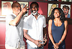 David Alan Grier, Norm Lewis & Audra McDonald.attending the celebration for Norm Lewis receiving a Caricature on Sardi's Hall of Fame in New York City on 5/30/2012
