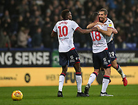Bolton Wanderers' Gary O'Neil celebrates scoring his side's second goal <br /> <br /> Photographer Andrew Kearns/CameraSport<br /> <br /> The EFL Sky Bet Championship - Bolton Wanderers v Rotherham United - Wednesday 26th December 2018 - University of Bolton Stadium - Bolton<br /> <br /> World Copyright © 2018 CameraSport. All rights reserved. 43 Linden Ave. Countesthorpe. Leicester. England. LE8 5PG - Tel: +44 (0) 116 277 4147 - admin@camerasport.com - www.camerasport.com