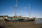 Generation Journey, Dutch sailing barge, Pin Mill, Suffolk, England