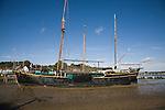 Generation Journey, Dutch sailing barge, Pin Mill, Suffolk, England